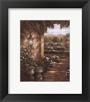 Evening in the Conservatory Framed Print