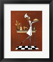 Sassy Chef I Framed Print