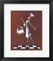 Sassy Chef II Framed Print
