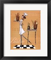 Sassy Chef IV Framed Print