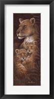 Framed Serengeti Twins