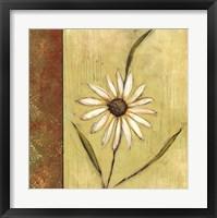 Framed Celadon Beauty I