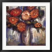 Orange Poppies II Framed Print
