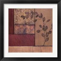 Framed Autumn Branch II