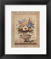 Framed Seasonal Bouquet II
