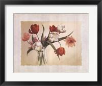 Framed Cynde's Tulips