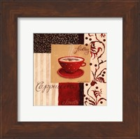 Framed Frothy Cappuccino