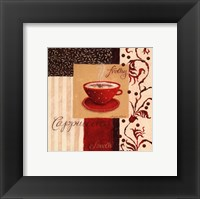 Frothy Cappuccino Framed Print