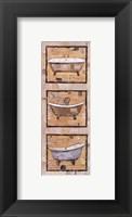 Framed Vintage Tubs I