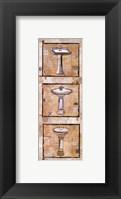 Framed Vintage Sinks I