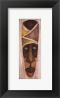 Framed Tikar Mask
