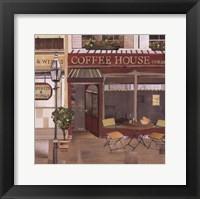 Framed Coffee House Corner