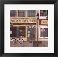 Framed Summer Cafe