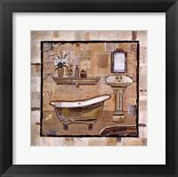 Framed Vintage Bath Time II