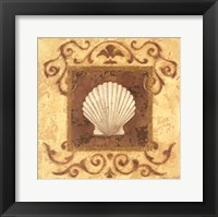 Framed Stylized Shell I