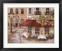 Framed Daytime Cafe II
