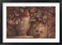 Framed Affresco di Fiore I