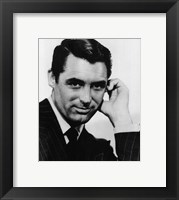 Framed Cary Grant Black and White