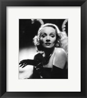 Framed Marlene Dietrich - Black and white