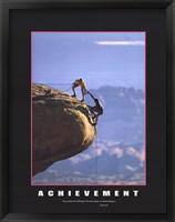 Framed Motivational - Achievement