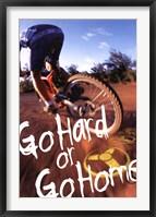 Framed Bike - Go Hard Or Go Home