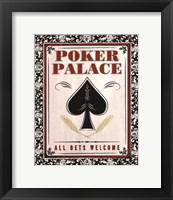 Framed Poker Palace