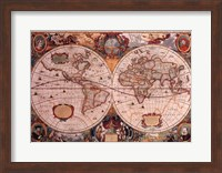 Framed Map - Geographica