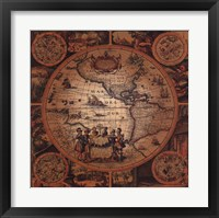 Framed Map - Cartographica 2