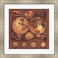 Framed Map - Cartographica 3
