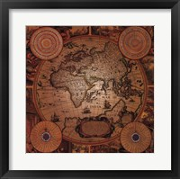 Framed Map - Cartographica 1