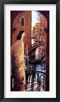 Framed Balcn en Venecia