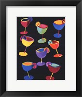 Framed Midnight Margaritas