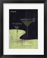 Framed Apple Martini