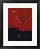Framed Cosmo Martini