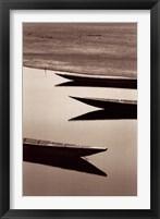 Framed Fishing Boats, Desert of Mauritania