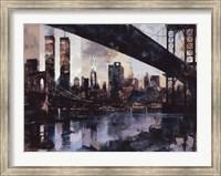 Framed Manhattan Skyline