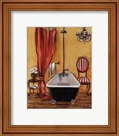 Framed Tuscan Bath III