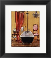 Framed Tuscan Bath III