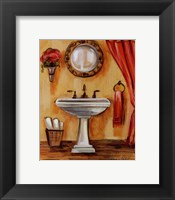 Framed Tuscan Bath IV
