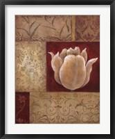 Framed Patchwork Tulip