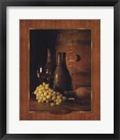 Vineyard Tour II Framed Print