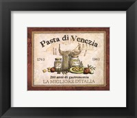 Gastronomia IV Framed Print