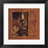 Framed Fine Wine II