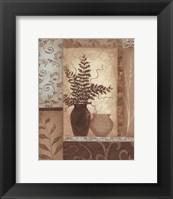Framed Eucalyptus Silhouette I