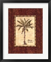 Framed Red Passion Palm II