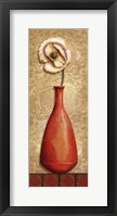 Asian Red III Framed Print