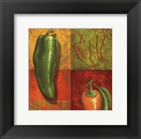 Chili IV Framed Print