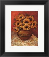 Tuscan Sunflowers II - mini Framed Print