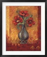 Pandora's Poppies Framed Print