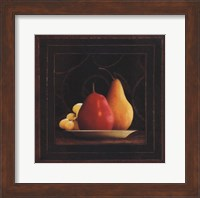 Framed Frutta del Pranzo III